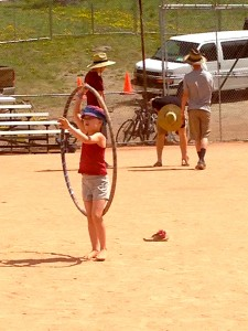 "The Hula-Hoop  ""Dance floor."""