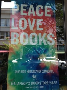 PEACE LOVE BOOKS