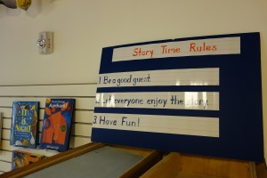 STORY TIME RULES